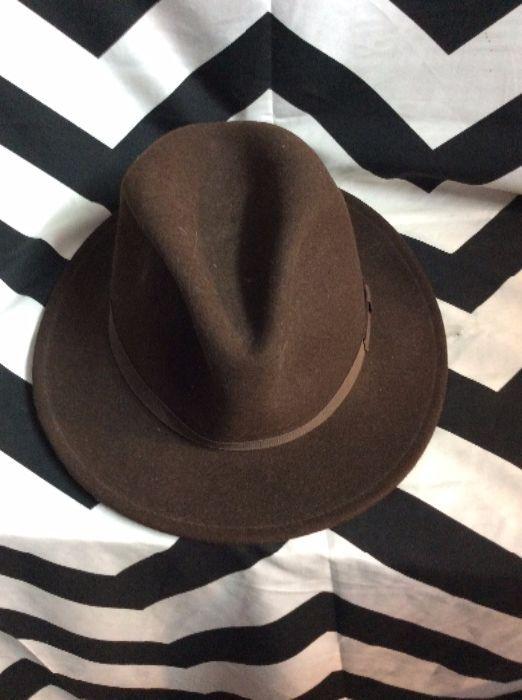 WILTON HAT - COUNTRY GENTLEMAN - FEDORA - FELT » Boardwalk Vintage 9c035813766