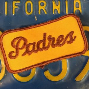 SAN DIEGO PADRES SPORTS PATCH *deadstock 1