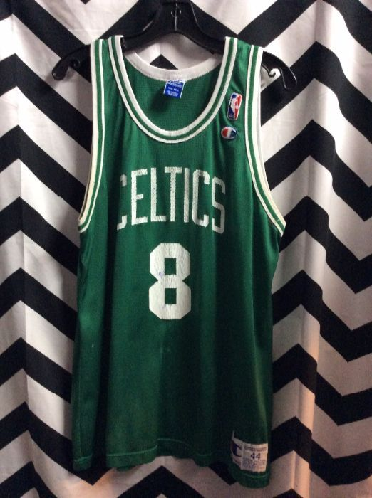 huge discount 7e8b7 13874 CHAMPION BASKETBALL JERSEY - BOSTON CELTICS - WALKER #8 - NBA