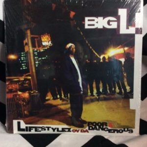 BW VINYL BIG L - Lifestylez ov da poor & dangerous 1