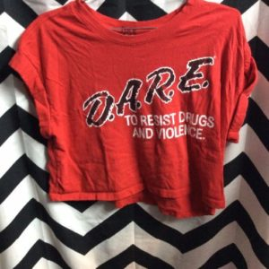 CROPPED & ALTERED DARE TSHIRT 1