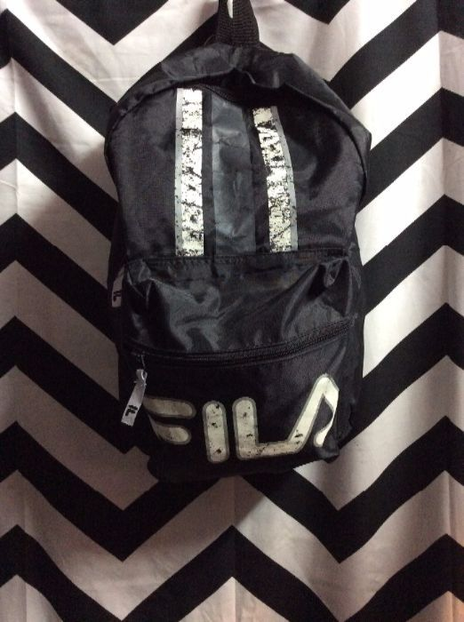 FILA BACKPACK - LARGE APPLIQUED LOGO » Boardwalk Vintage
