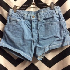 LEVIS Short White Tab Baby Blue 1