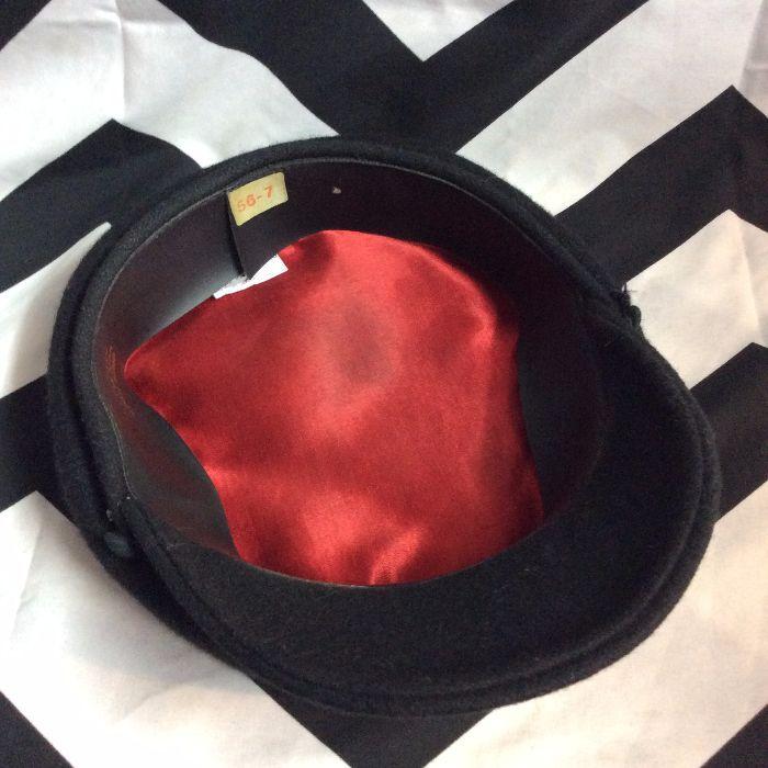 Greek Fisherman Wool Blend Hat Cap Black Medium 7 Made In Greece 3 bf96eef87275