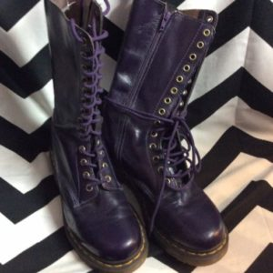 TALL LACEUP 28 HOLE DOC MARTENS 1