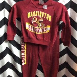 LS Shirt & Pants Redskins 1