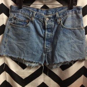LEVIS DENIM CUT OFF SHORTS CLASSIC 1
