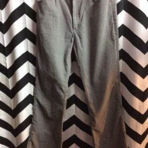 GREY PANTS CORDUROY FLARES 30 1
