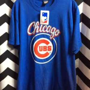 TSHIRT *DEADSTOCK CHICAGO CUBS NWT 1989 1