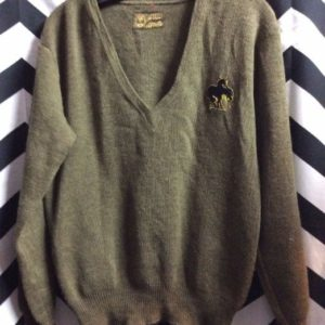 ARMY SWEATER PULLOVER 1