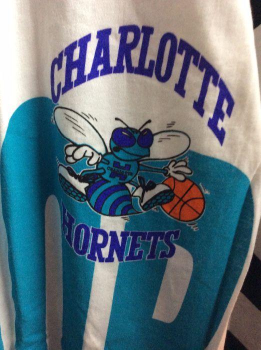 TSHIRT NBA CHARLOTTE HORNETS DEADSTOCK NWT 3