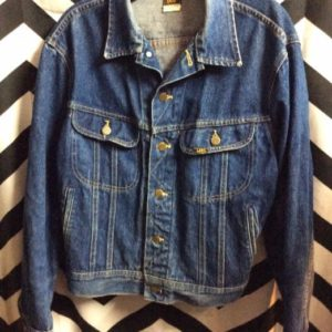 LEE Dark Denim Jacket 2