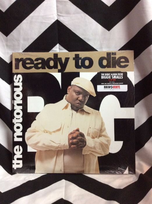 product details: BW VINYL NOTORIOUS BIG - READY TO DIE photo