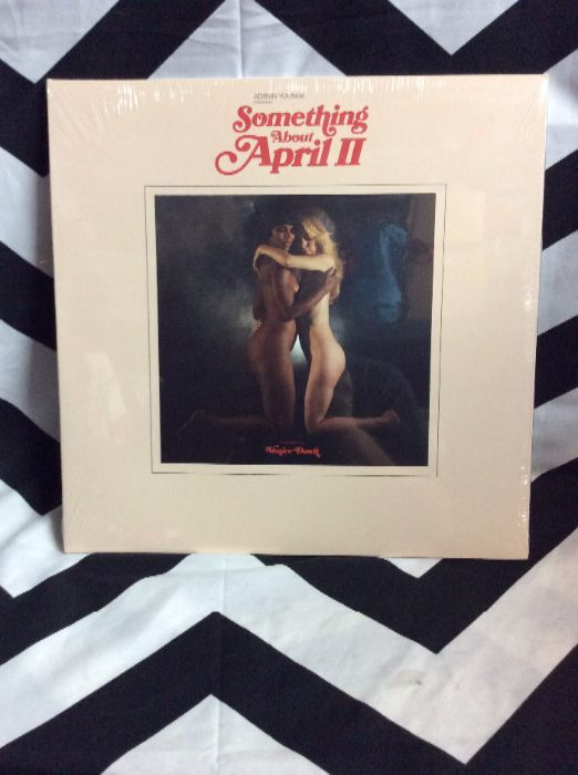 product details: BW VINYL RECORD - ADRIAN YOUNGE - SOMETHING ABOUT APRIL 2 photo