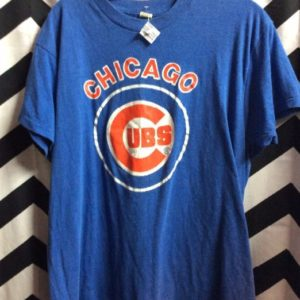 TSHIRT SOFTY CHICAGO CUBS SMALL FIT 1