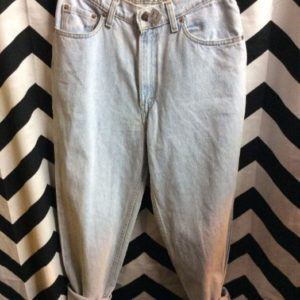LEVIS LIGHT WASH HIGH WAISTED W27 1