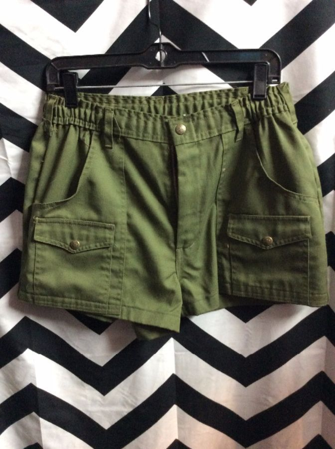 SHORTS CARGO STRETCH TOP 1