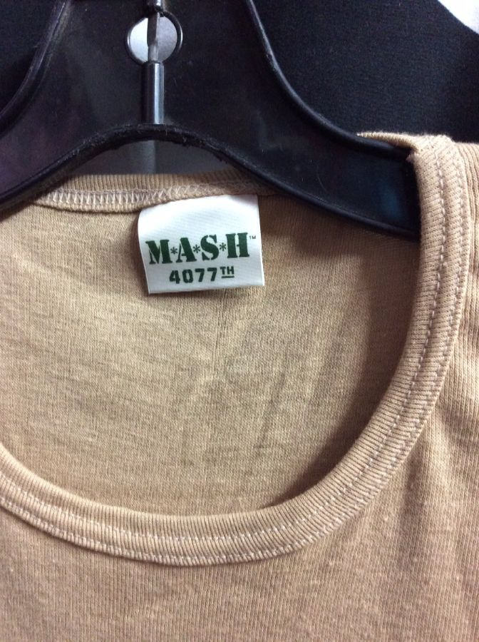 *DEADSTOCK* *M*A*S*H* Blank COTTON BABY TEE *original 1981 Stock 3