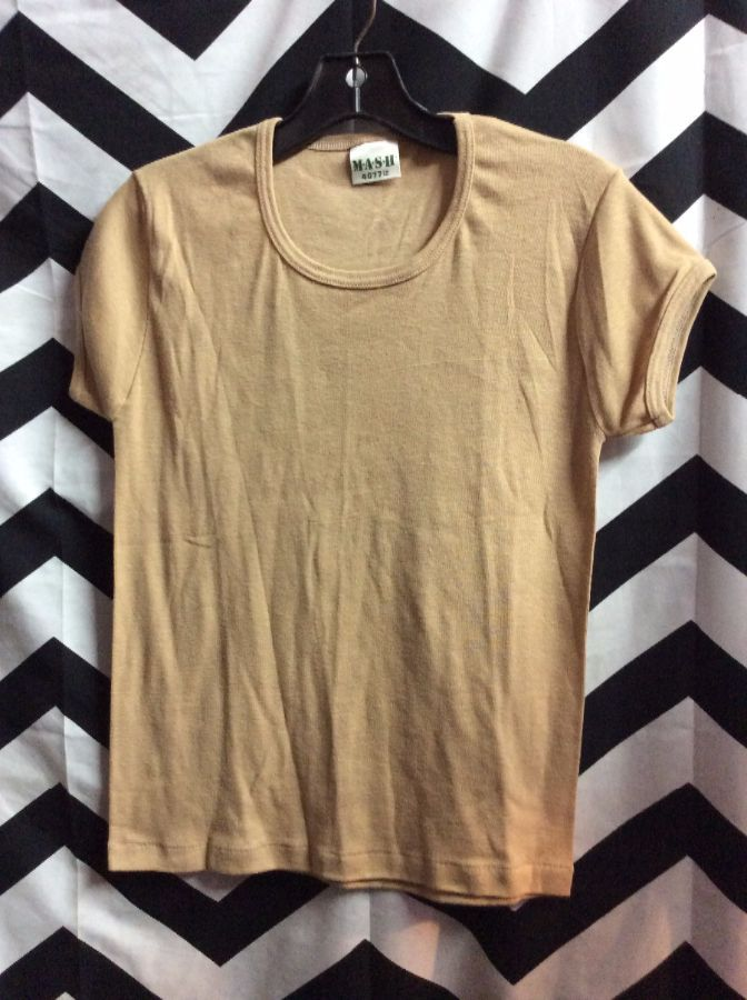*DEADSTOCK* *M*A*S*H* Blank COTTON BABY TEE *original 1981 Stock 1
