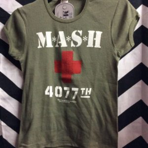 *DEADSTOCK* *M*A*S*H* COTTON BABY TEE *original 1981 Stock 1