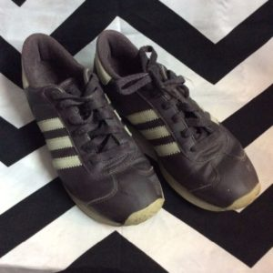 Adidas Retro Running Shoes Brown 6 1