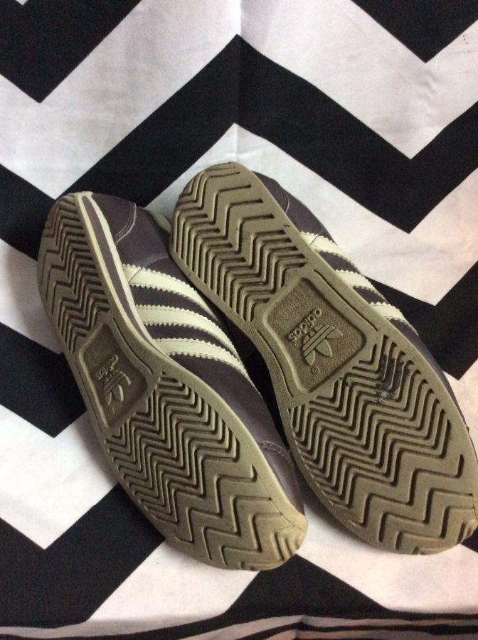 Adidas Retro Running Shoes Brown 6 2