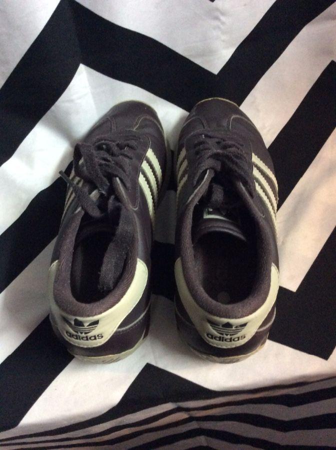 Adidas Retro Running Shoes Brown 6 3
