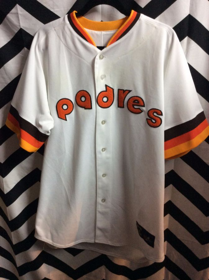 best website e62c5 5e851 Retro MLB San Diego Padres Jersey Cooperstown Collection