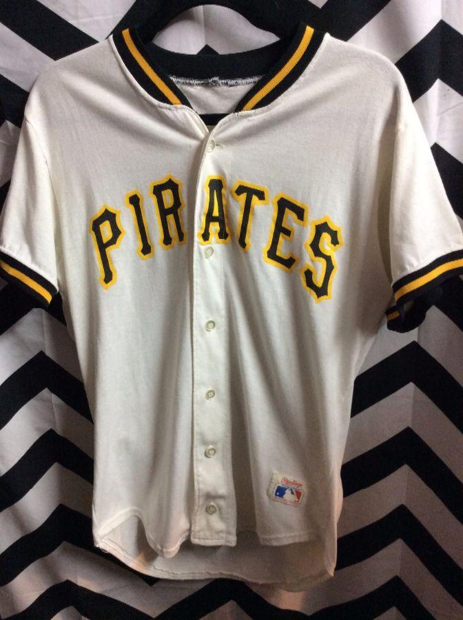 huge discount c4220 e1586 RAWLINGS BASEBALL JERSEY - COTTON - PITTSBURGH PIRATES - MLB