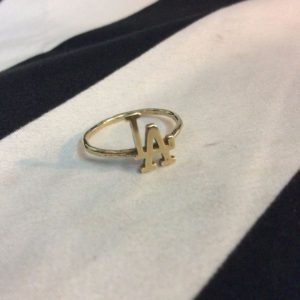 SOLID BRASS LA RING 1