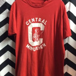 TSHIRT Central Minutemen Graphic Soft 1
