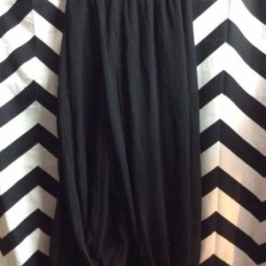 Silk Thin Layers Elastic Waist Long Skirt 1