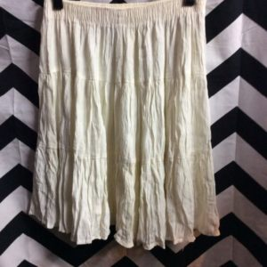 MINI SKIRT TIERED RUFFLE 1