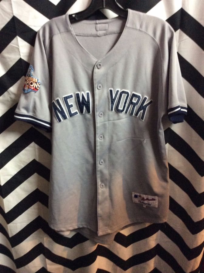 best service 5e03a f1414 MAJESTIC BASEBALL JERSEY - NEW YORK YANKEES - JETER #2 - MLB