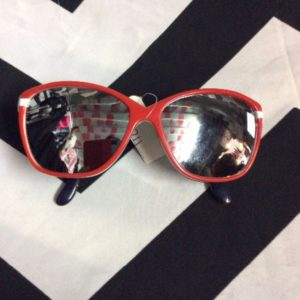 SUNGLASSES REFLECTIVE GLASS 2 TONE 1