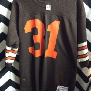 Retro NFL Cleveland Browns #31 Jersey as-is 1