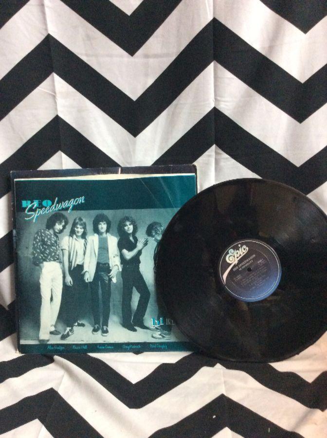 VINYL RECORD - REO SPEEDWAGON - HI INFIDELITY