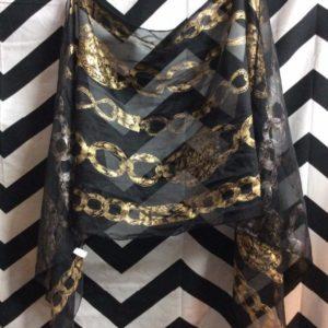 silk scarf chain print 1