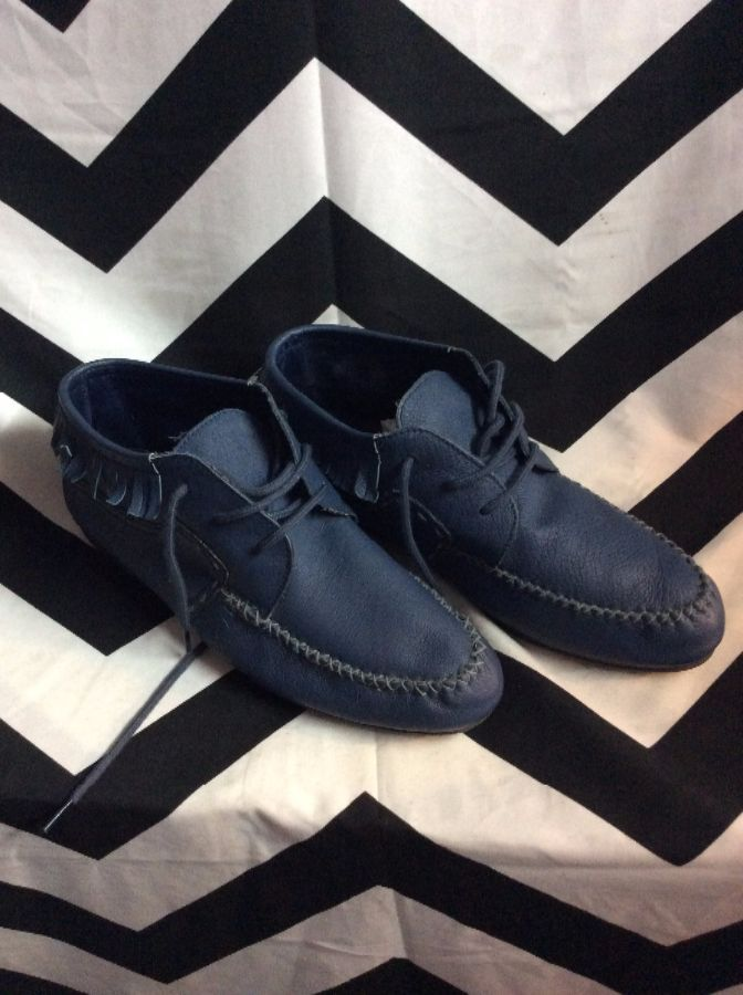LITTLE LOW TOP MOCCASIN STYLE LEATHER SHOES 1