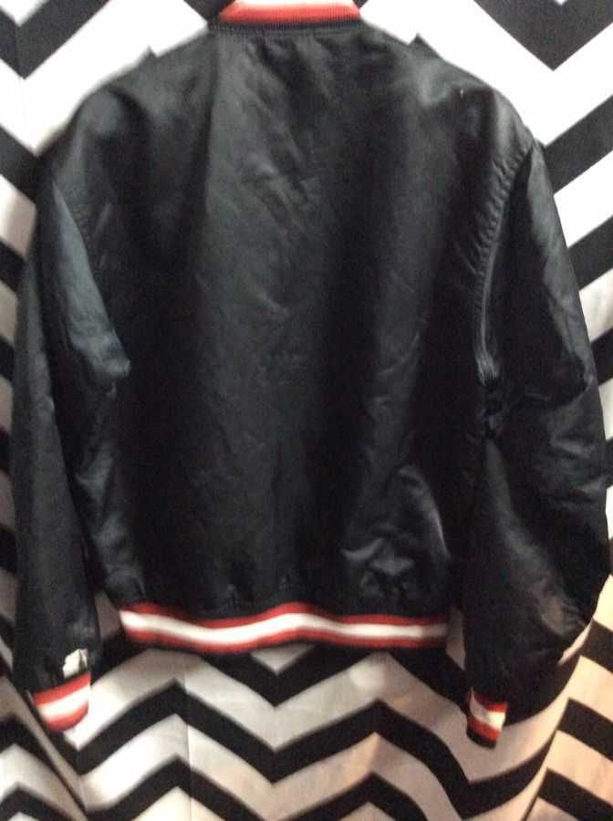 NBA Portland Trailblazers Traditional letter BLAZERS Starter Jacket as-is 2