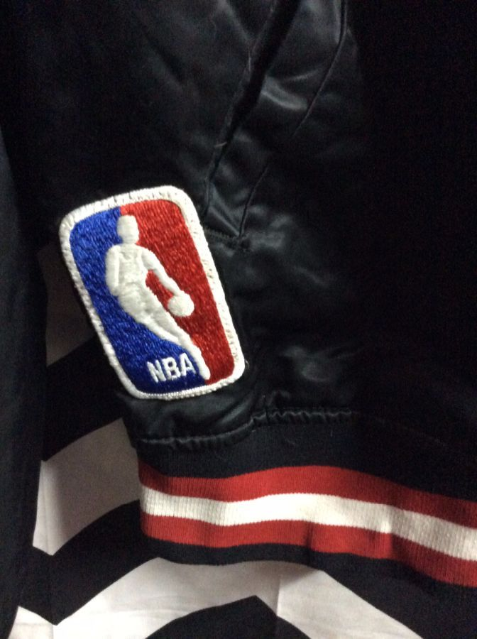 NBA Portland Trailblazers Traditional letter BLAZERS Starter Jacket as-is 6