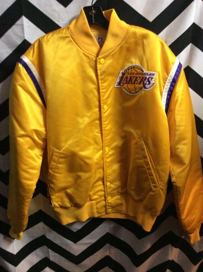 Starter Jacket La Lakers Patches Nba Boardwalk Vintage
