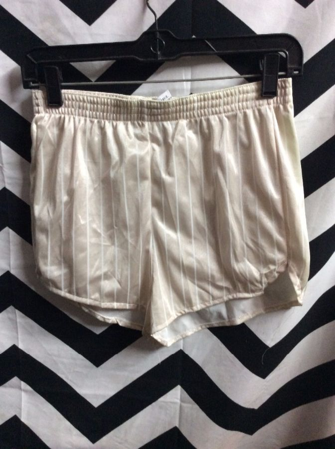 LITTLE DEADSTOCK DOLPHIN SHORTS PIN STRIPE 1