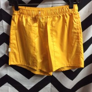 DEADSTOCK RETRO LEVIS RUNNING SHORTS WELT POCKETS ELASTIC WAIST 1