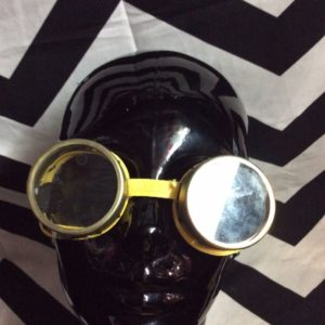 Vintage USSR motorcycle goggles METAL & Glass 1