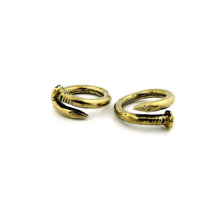 BENT NAIL RING- Classic|thick 0