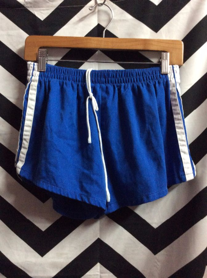 e54d473a9 RETRO JC PENNY SWIM SHORTS - ELASTIC WAIST - SIDE STRIPES ...