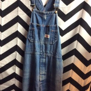 OVERALLS RIPPED POCKET 3 FRONT POCKETS 2