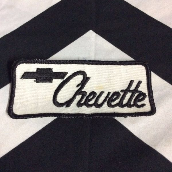 PATCH- CHEVETTE *OLD STOCK* 1