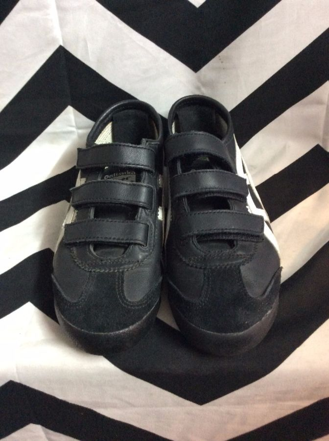 check out 99fc8 54a11 RETRO ONITSUKA TIGER SNEAKERS W/VELCRO STRAPS
